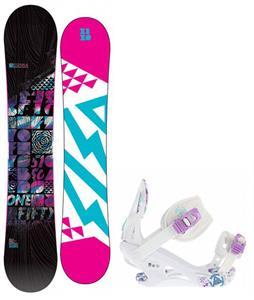 5150 Sienna Snowboard w/ K2 Kat Bindings