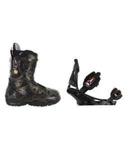 Burton Modern Snowboard Boots with Burton Escapade Snowboard Bindings