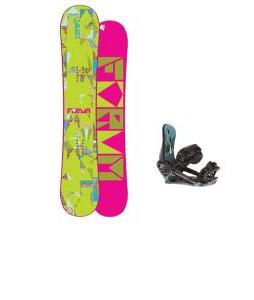 Forum Craft Snowboard w/ Morrow Sky Bindings