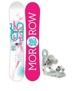 Morrow Sky Snowboard w/ Ride LXH Bindings