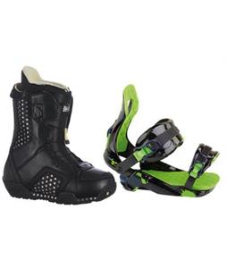 Burton Emerald Snowboard Boots w/ Rossignol Justice Bindings