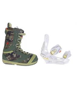 Burton Sapphire Boots w/ Burton Lexa Bindings