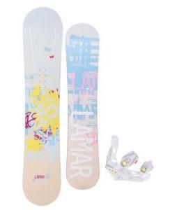 Lamar Foxie Snowboard w/ Burton Lexa Bindings