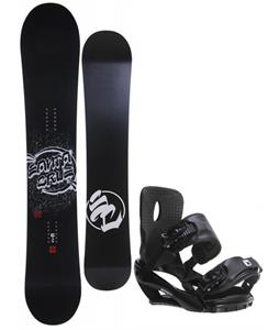 Santa Cruz All Star Vato Dato Snowboard w/ Sapient Wisdom Bindings