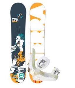 Sierra V Spot Snowboard w/ Morrow Lotus Bindings