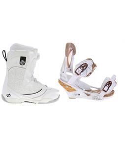 Morrow Kava BOA Snowboard Boots w/ Burton Escapade Bindings