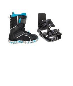 Salomon Team Snowboard Bindings w/ Burton Zipline Snowboard Boots