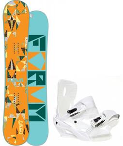 Forum Craft Snowboard w/ Sapient Zeta Bindings