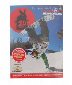 20 Tricks Volume 3 Snowboard Dvd