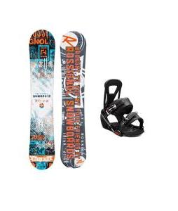 Rossignol Trickstick CYT Amptek Midwide Snowboard w/ Burton Freestyle Bindings