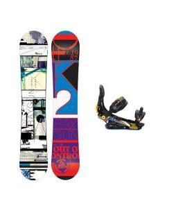 K2 Raygun Snowboard w/ Rome S90 Bindings