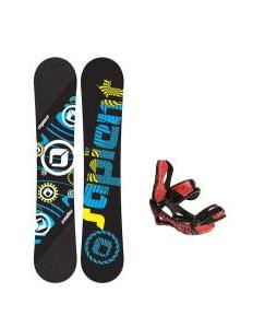 Sapient Cog Snowboard w/ Lamar Wrap Bindings