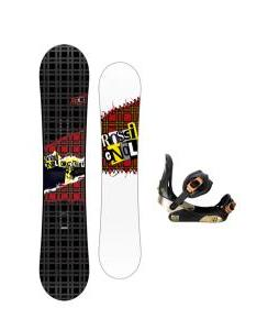 Rossignol Contrast Snowboard w/ Morrow Invasion Bindings