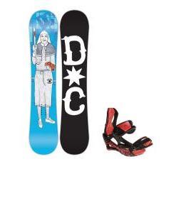 DC Pbj Snowboard w/ Lamar Wrap Bindings