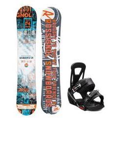Rossignol Trickstick CYT Amptek Snowboard w/ Burton Freestyle Bindings