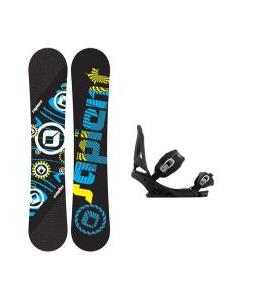 Sapient Cog Snowboard w/ Burton Mission Bindings