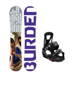 Burton Burden Snowboard w/ Freestyle Bindings