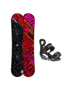 Ride Kink Snowboard w/ LX Bindings