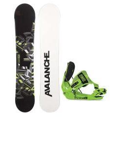 Avalanche Source Snowboard w/ Flow Quattro-SE Bindings