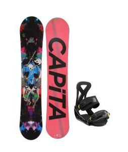Capita Mindblower LTD Snowboard w/ Burton Custom Bindings
