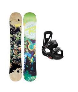 Rossignol Angus Amptek Snowboard w/ Burton Freestyle Bindings