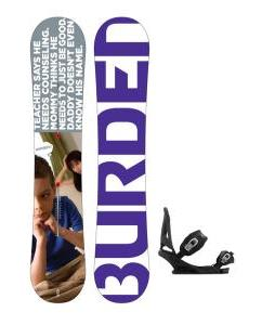 Burton Burden Snowboard w/ Mission Bindings