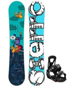Sierra Stunt Snowboard w/ Burton Freestyle Bindings