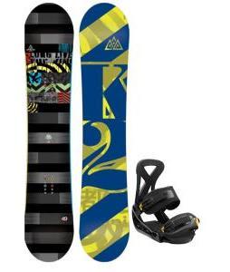 K2 Lifelike Snowboard w/ Burton Custom Bindings