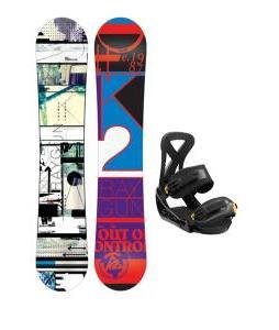 K2 Raygun Snowboard w/ Burton Custom Bindings