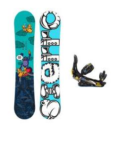 Sierra Stunt Snowboard w/ Rome S90 Bindings
