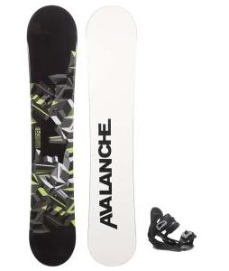 Avalanche Source Snowboard w/ Summit Bindings
