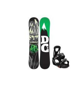 DC Focus Snowboard w/ Burton Freestyle Bindings