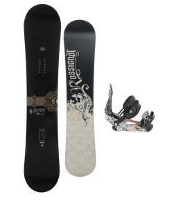 Rossignol Sultan Midwide Snowboard w/ Ride LX Bindings