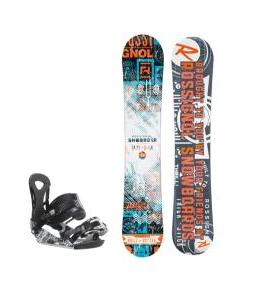 Rossignol Trickstick CYT Amptek Snowboard w/ Ride LX Bindings