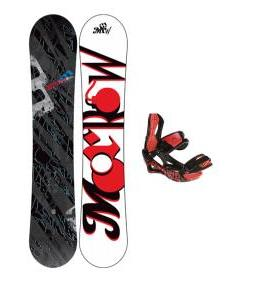 Morrow Fury Snowboard w/ Lamar Wrap Bindings