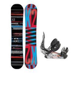 K2 Playback Wide Snowboard w/ Ride LX Bindings