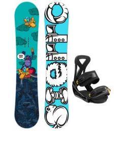 Sierra Stunt Snowboard w/ Burton Custom Bindings