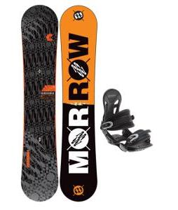 Morrow Clutch Snowboard w/ Avalanche Summit Bindings