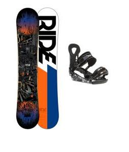 Ride Berzerker Snowboard w/ LX Bindings