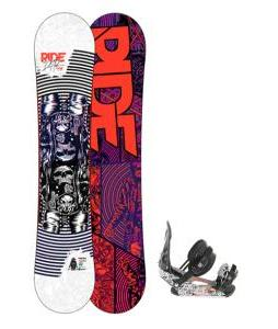 Ride DH2 Wide Snowboard w/ LX Bindings