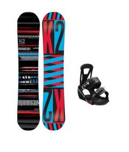 K2 Playback Snowboard w/ Burton Freestyle Bindings