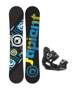 Sapient Cog Snowboard w/ Avalanche Summit Bindings