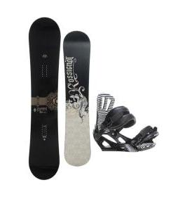 Rossignol Sultan Midwide Snowboard w/ Cage Bindings