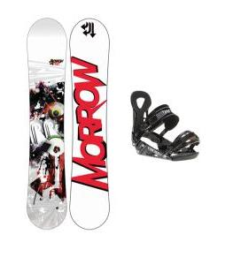 Morrow Radium Wide Snowboard w/ Ride LX Bindings