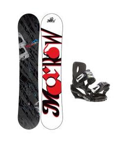 Morrow Fury Snowboard w/ Sapient Stash Bindings