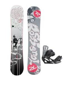 Rossignol District Amptek Snowboard w/ Cage Bindings