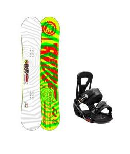 Ride Machete Snowboard w/ Burton Freestyle Bindings