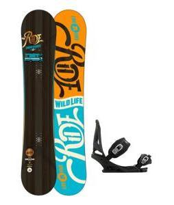 Ride Wild Life Snowboard w/ Burton Mission Bindings