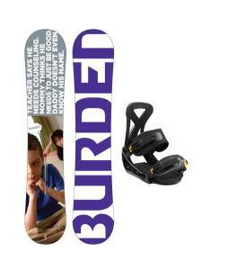 Burton Burden Snowboard w/ Custom Bindings