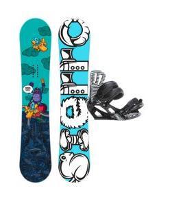 Sierra Stunt Snowboard w/ Rossignol Cage Bindings